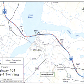 Environmental Assessment Registered for Twinning of Highway 101 – Three Mile Plains to Falmouth