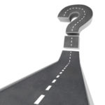 Question Mark on Road - Uncertainty